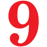 Number-9-red